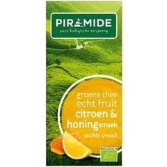 Piramide Pyramide Grüner Tee Zitrone und Honig 20 Stück