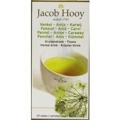 Jacob Hooy Fenchel / Anis / Kümmeltee Gold 20 Beutel