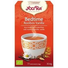 Yogi Tea Bedtime Rooibos Vanille 17 Beutel