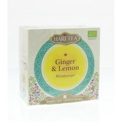 Hari Tea Mindscape Ingwer & Zitrone 10 Stück