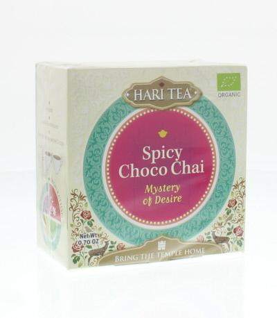 Hari Tea Hari Tea Mysterium der Begierde würzigen Choco Chai 10 Stück