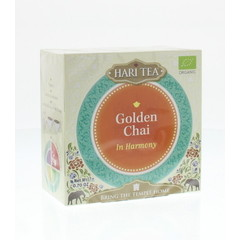 Hari Tea Hari Tee In Harmonie golden Chai 10 Stück