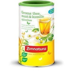Zonnatura Green auflösende Pfefferminze / Kamille 200 Gramm
