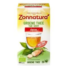 Zonnatura Grüner Tee Ginseng Bio 20 Beutel