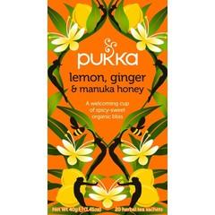 Pukka Org. Teas Pukka Org. Tees Zitrone Ingwer Manuka Honig 20 Beutel
