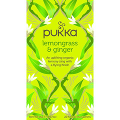 Pukka Org. Teas Pukka Org. Tees Zitronengras & Ingwertee 20 Beutel
