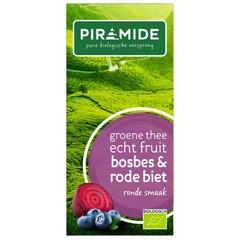 Piramide Pyramid Blueberry Rote Beete Grüntee 20 Beutel