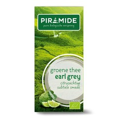 Piramide Pyramide Grüner Tee & Earl Grey Eko 20 Beutel