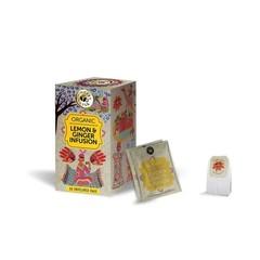 Ministry Of Tea Ministerium für Tee Zitrone & Ingwer Bio 20 Beutel