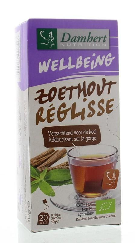 Damhert Damhert Tea time Lakritztee 20 Beutel