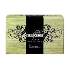 Mr Jones Kleiner grüner Beutel grüner Tee 20 Beutel