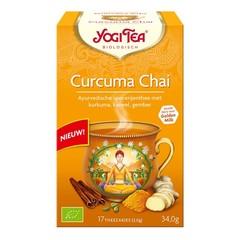 Yogi Tea Curcuma / Kurkuma Chai Tee Bio 17 Beutel