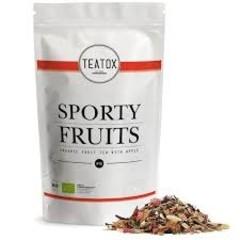 Teatox Bio Thee Teatox Bio Tee Sportliche Früchte Bio Nachfüllung 60 Gramm
