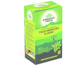 Organic India Bio India Tulsi Grüntee Bio 25 Beutel