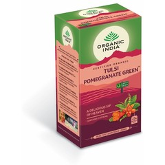 Organic India Bio India Tulsi Granatapfel Grüntee Bio 25 Beutel