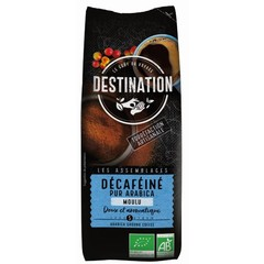 Destination Coffee decaf reines Arabica gemahlen 250 Gramm