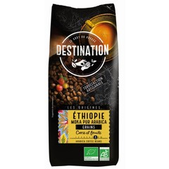 Destination Bestimmungsort-Kaffee-Äthiopien-Mokkabohnen 1 Kilogramm