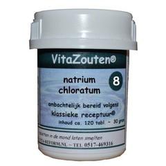 Vitazouten Vita Salze Natriumchloratum / mur.VitaZout Nr. 08 120 Tabletten