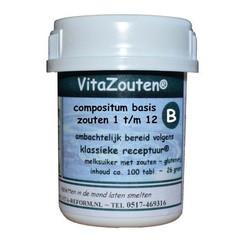Vitazouten Vita Salze Vita Salze Compositum Basis 1t / m12 100 Tabletten