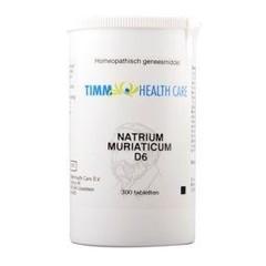Timm Health Care Natriummuriaticum D6 8 Schussler 300 Tabletten