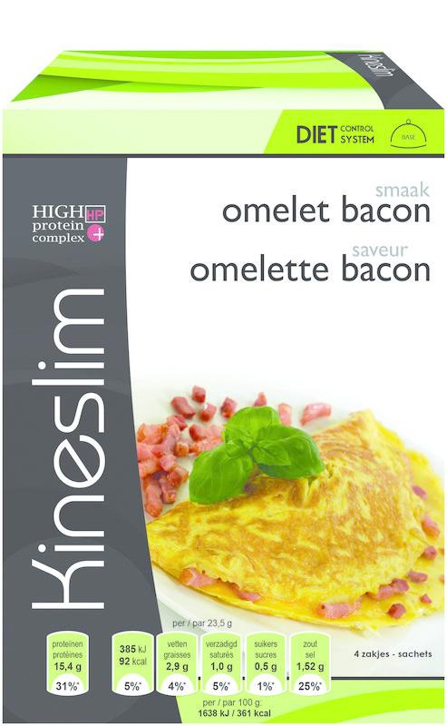 Kineslim Kineslim Omelette Speck 4 Stück