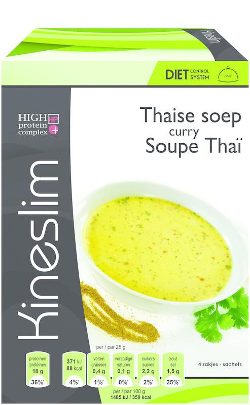 Kineslim Kineslim Suppe Thai Curry 4 Stück