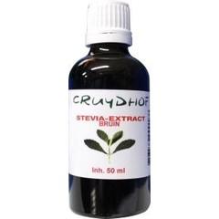 Cruydhof Stevia Extrakt braun 50 ml