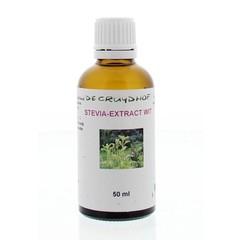 Cruydhof Stevia Extrakt weiß 50 ml