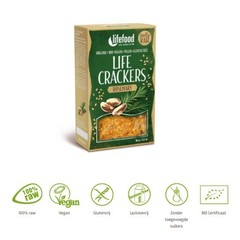 Lifefood Life Cracker Rosmarin 90 Gramm
