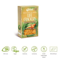 Lifefood Life Cracker Sauerkraut Buchweizen 90 Gramm
