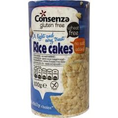 Consenza Reiskuchen ohne Salz 100 Gramm