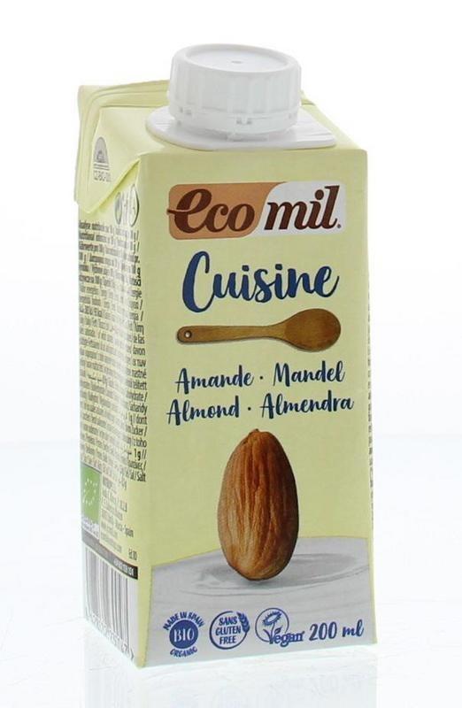 Ecomil Ecomil Cuisine Mandel 200 ml