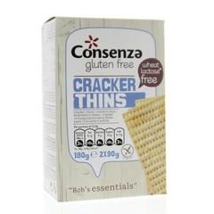 Der Consenza Rob Cracker für das Wesentliche ist 180 Gramm schwer