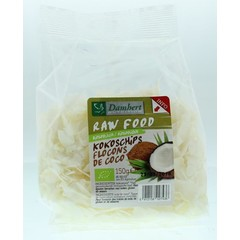 Biofood Coconut Chips 150 Gramm