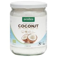 Purasana Fair Trade Kokosnussöl 500 ml
