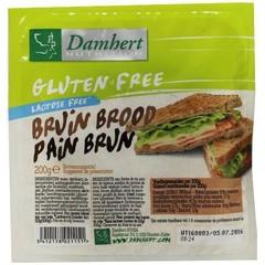 Damhert Schwarzbrot glutenfrei 200 Gramm