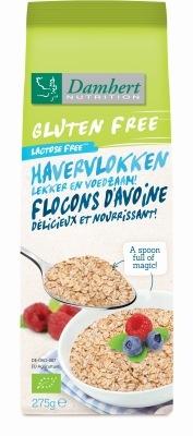 Damhert Damhert Haferflocken glutenfrei 275 Gramm