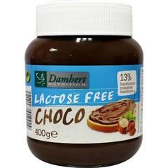 Damhert Schokoladenaufstrich laktosefrei 400 Gramm