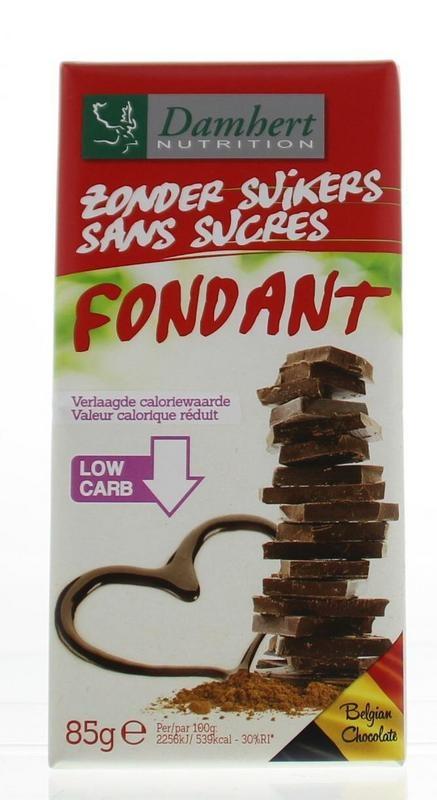 Damhert Damhert Schokoladentafel pur 85 Gramm