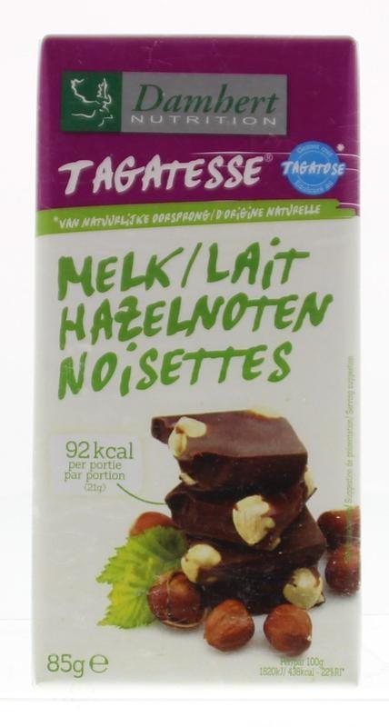 Damhert Damhert Schokoladentablette Nüsse 85 Gramm