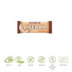 Lifefood Lifebar Johannisbrot Haselnuss Bio 47 Gramm