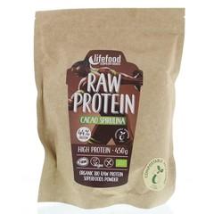 Lifefood Rohprotein Cacao Spirulina Bio 450 Gramm