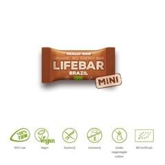 Lifefood Mini Lifebar Energieriegel Brasilien roh & bio 25 Gramm