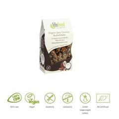 Lifefood Life Süßigkeiten Kokos Buchweizen roh & Bio 100 Gramm
