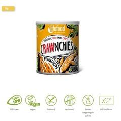 Lifefood Crawnchies Stack Chips Kürbis Kurkuma roh & Bio 30 Gramm