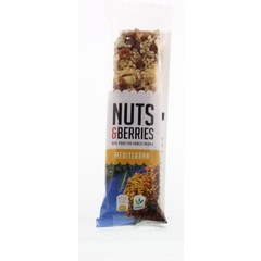 Nuts & Berries Nuts & Berries Bar Mittelmeer 40 Gramm