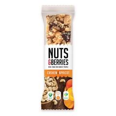 Nuts & Berries Nüsse & Beeren Cashew Aprikose 30 Gramm