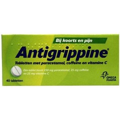 Antigrippine Antigrippin Antigrippin 250 mg 40 Tabletten