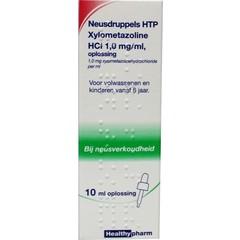 Healthypharm Nasentropfen HTP Xylometazolin HCl 1 mg / ml 10 ml