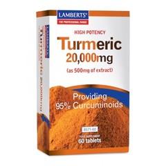 Lamberts Curcuma 20.000 mg (Kurkuma) 60 Tabletten